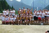 Přerovská posádka Moravian Dragons si vyjela zlaté medaile na mistrovství Evropy klubů v italských Dolomitech.