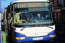 Autobus přerovské MHD. Ilustrační foto