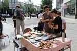 Pohodové dopoledne si užili lidé, kteří se zastavili v sobotu dopoledne u průjezdu ve Wilsonově ulici. Mezinárodní den sousedů Přerov slaví vůbec poprvé.