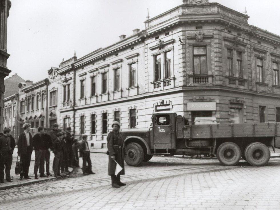 V pátek 23. srpna 1968 obsadila v ranních hodinách okupační vojska Přerov.