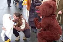 Vodění medvěda v Tučíně