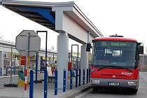 Autobusové nádraží v Přerově. Ilustrační foto