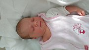 Linda Marková, Předmostí, narozena dne 18. června v Přerově, míra 48 cm, váha 3188 g