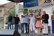 Účastníci Tenisové akademie Petra Huťky bavili v neděli odpoledne Přerovany.