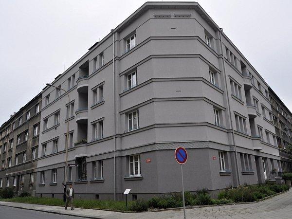 Oceněný dům vJaselské ulici vPřerově - 1.místo