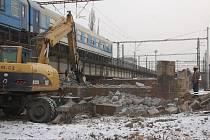 Rekonstrukce železničního mostu přes řeku Bečvu v Přerově