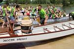 Festival dračích lodí na přerovské Laguně