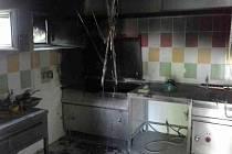 Požár v kuchyni restaurace v Horní Moštěnici