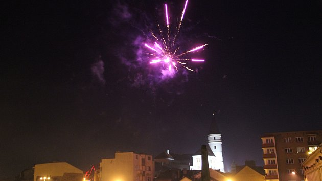 Silvestrovské oslavy 2017 v centru Přerova