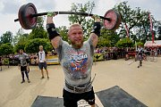 World's Ultimate Strongman Champoinship U105 kg v Přerově