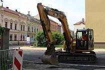 Rozšíření Palackého ulice v Přerově finišuje