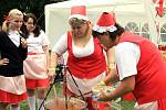 Omamná vůně se linula v sobotu z přerovského výstaviště, kde se konalo mistrovství republiky ve vaření kotlíkových gulášů.