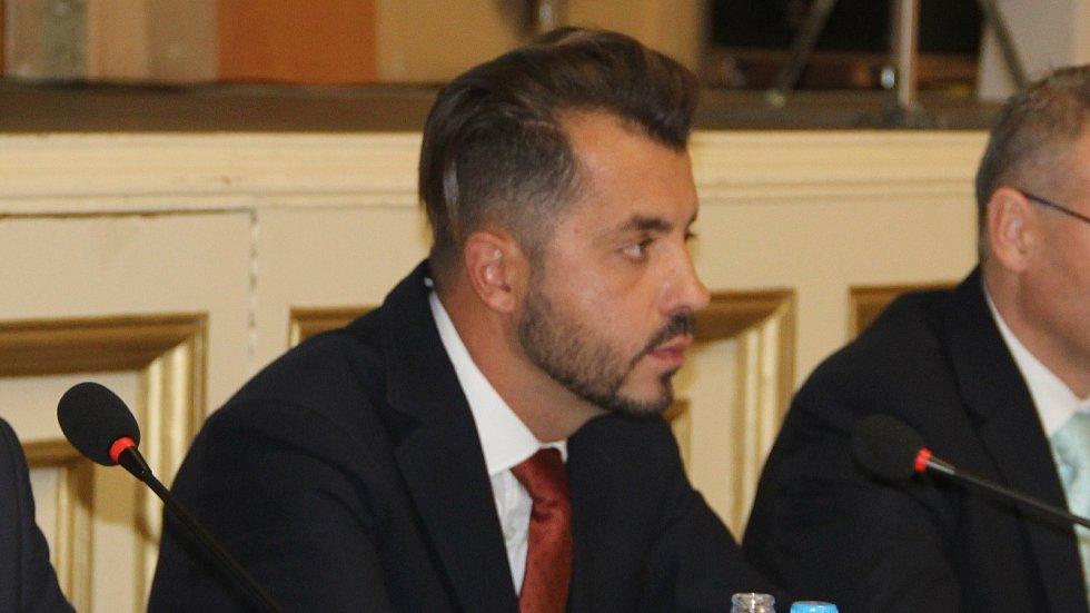 Náměstek přerovského primátora Michal Zácha (ODS)