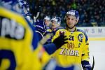 Hokejisté Přerova proti Kladnu. Nastoupil i Jaromír Jágr. Foto: Deník/Jan Pořízek