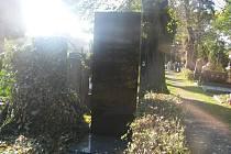 Městský hřbitov v Přerově -  - hrob spisovatelky Amálie Vrbové