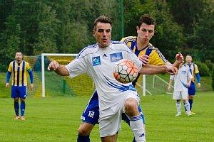 Fotbalisté Kozlovic proti Šternberku