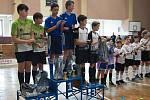 Přerovská sokolovna o víkendu patřila kolové. Žáci TJ Spartak Přerov ovládli 2. kolo Českého poháru žáků