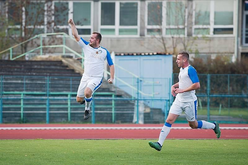 David Chuda slaví gól