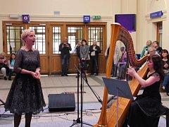 Koncert na přerovském nádraží