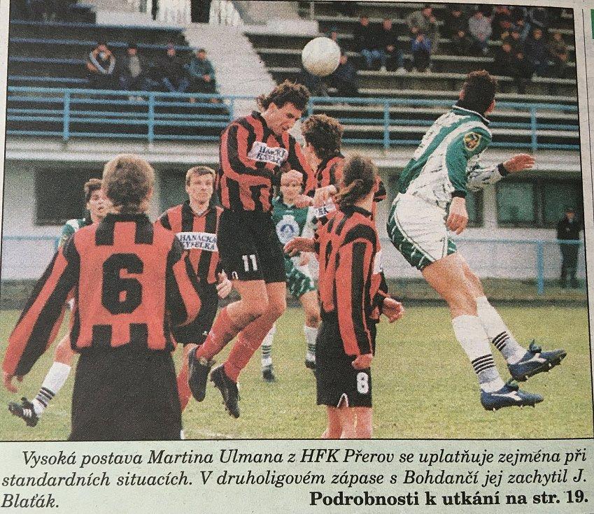 Přerov bojoval ve 2. lize.