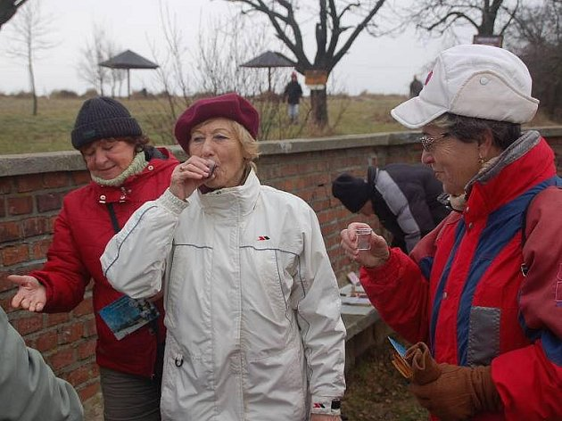 Novoroční výšlap na Čekyňský kopec