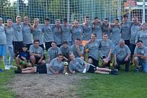 Dorostenci FC Želatovice. Vítězové krajské soutěže 2016/2017.