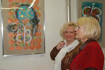 Výstava děl Františka Hubatky s názvem Rumunští bělásci