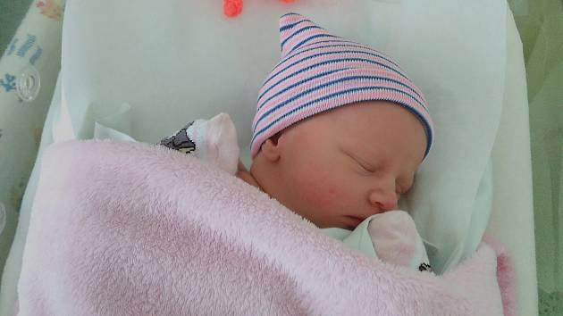Andrea Tomčíková, Hradčany, narozena 6. února 2020 v Přerově, míra 47 cm, váha 2722 g