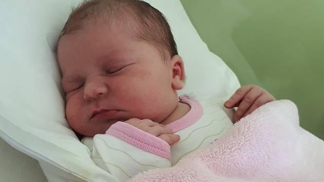Viktorie Šromotová, Dluhonice, narozena 19. května 2019 v Přerově, míra 51 cm, váha 4290 g