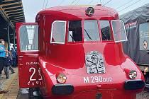 Slovenská strela se rozloučila s Přerovem, kde probíhala oprava tohoto historického vozidla. 13. května 2021