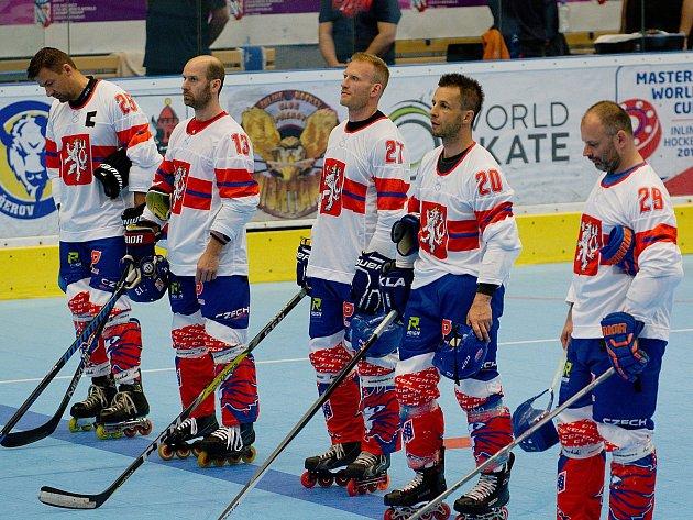 Reprezentace České republiky na MS v inline hokeji kategorie Masters v Přerově