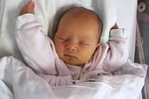Nikola Balcárková, Týn nad Bečvou, narozena 3. května 2010 v Přerově, míra 49 cm, váha 2 790 g