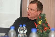 Trenér fotbalové reprezentace Pavel Vrba na besedě v sídle OFS Přerov