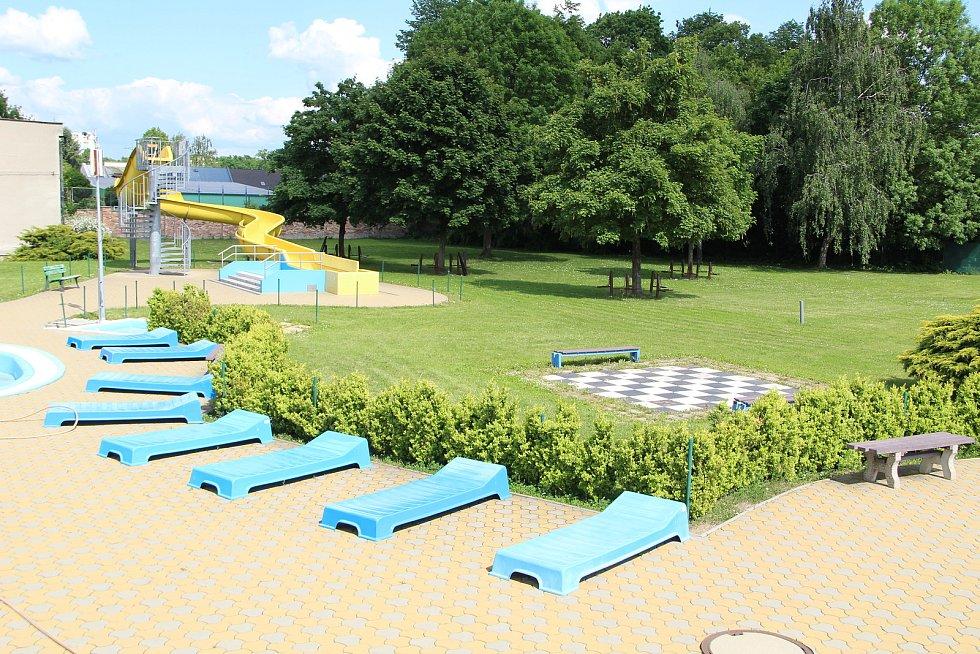 Plavecký areál v Přerově - 31. května 2021