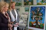 Obrázky Emmy Srncové v přerovské galerii Střed