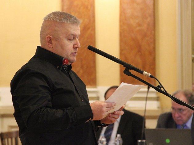 Člen hnutí ANO Karel Bořuta (na snímku) se snažil na pondělním jednání zastupitelstva v Přerově odvolat svého stranického kolegu – náměstka primátora za hnutí ANO Petra Měřínského.