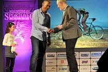 Jaroslav Hýzl na vyhlášení Nejúspěšnějších sportovců za rok 2014 v přerovském Městském domě