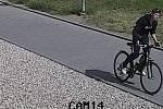Policie hledá zloděje, který 1. května ukradl kolo před Galerií Přerov