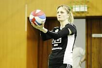 Dita Gáliková, kapitánka PVK Precheza