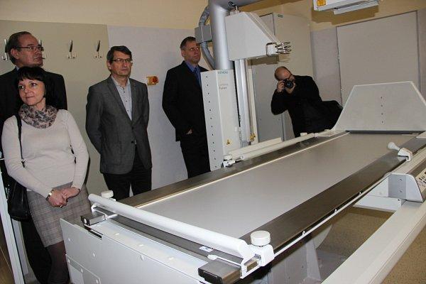 Otevření nově zrekonstruovaného pavilonu radiodiagnostiky vPřerově