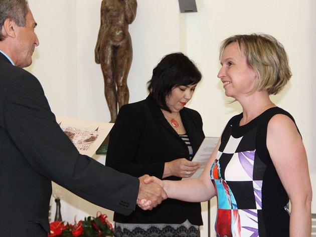 Vítězové soutěže Přerovská stavba roku 2014 převzali ocenění v Mervartově pamětní síni na zámku