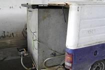 Speciální čerpací zařízení ve Škodě Pick-up