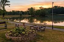 Přírodní koupaliště Laguna v Přerově je místem relaxace i odpočinku.