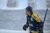 Hokejisté Přerova (v modrém). Ilustrační foto