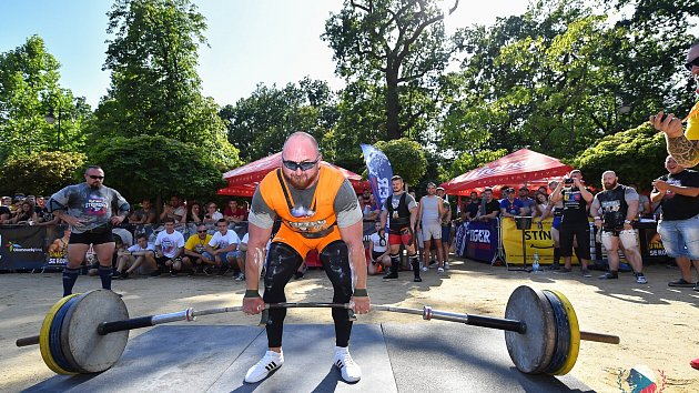 European Ultimate Strongman Championship U105