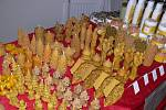 Tradiční vánoční výstava v Býškovicích.