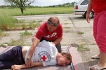 Rovnou dvě akce zaměřené na prevenci zorganizovala policie v pondělí 21. května v Přerově. Na dopolední si řidiči vyzkoušeli poskytování první pomoci.