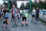 Nočním Přerovem projelo v pátek večer několik desítek bruslařů, a to v rámci letošní čtvrté a poslední výjižďky městskými ulicemi Tempish Night Skates.