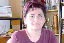 Starosta obce Milenov Milada Vašíčková
