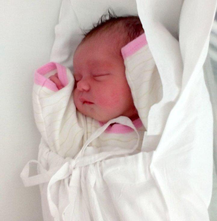 Tereza Vaculíková, Přerov, narozena 17. srpna  2017 v Přerově, míra 50 cm, váha 3894 g